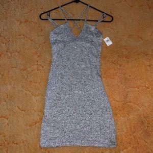 Dresses & Skirts - Heather gray bodycon dress